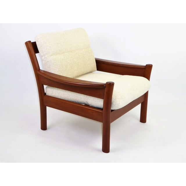 Dyrlund Lounge Teak Lounge Armchair, Denmark 1960s For Sale In Miami - Image 6 of 13