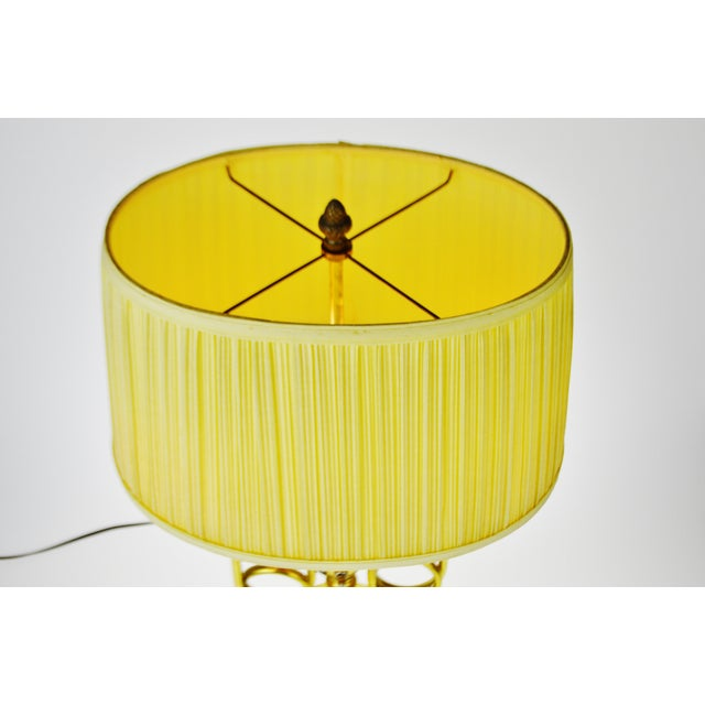 Vintage Bouillotte Style Table Lamp - Image 4 of 11