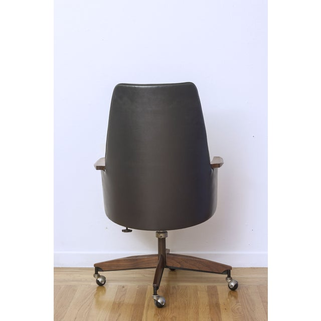 Mid Century Executive High Back Office Chair - Image 5 of 6