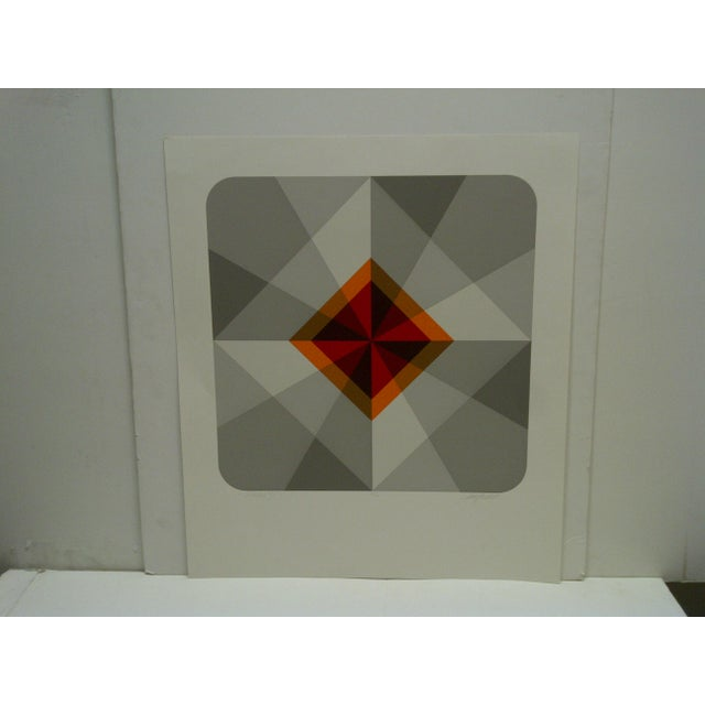 """This is a Limited Edition -- Numbered (18/60) And Signed Print -- Titled """"Oribus IV"""" -- By Mike Kutchner"""