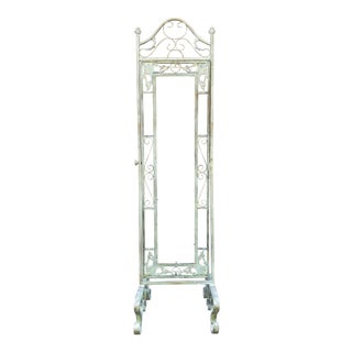 Victorian Iron Mirror Stand For Sale