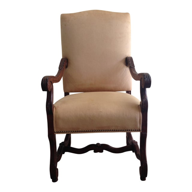 Fremarc Carved Provence Dining Chairs - Set of 6 For Sale