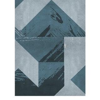 Covet Paris Calipso Geometric Rug - 6′7″ × 9′10″ For Sale
