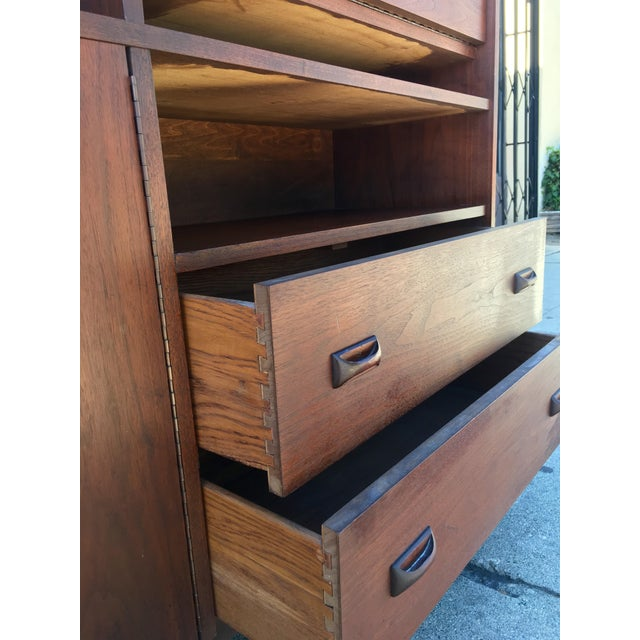 Horner Manufacturing Mid Century Wall Unit - Image 7 of 10