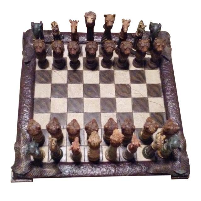 Safari Chess Set - Image 1 of 6
