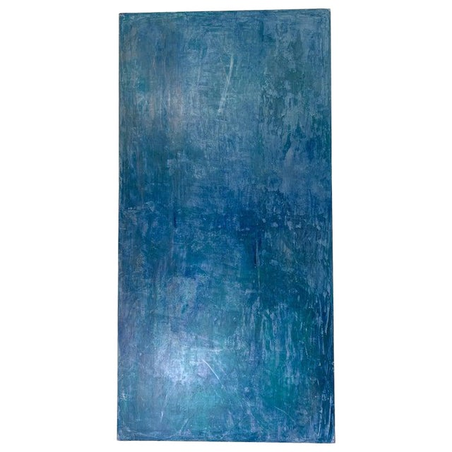 2019 Carol Post Venetian Plaster and Acrylic Painting For Sale