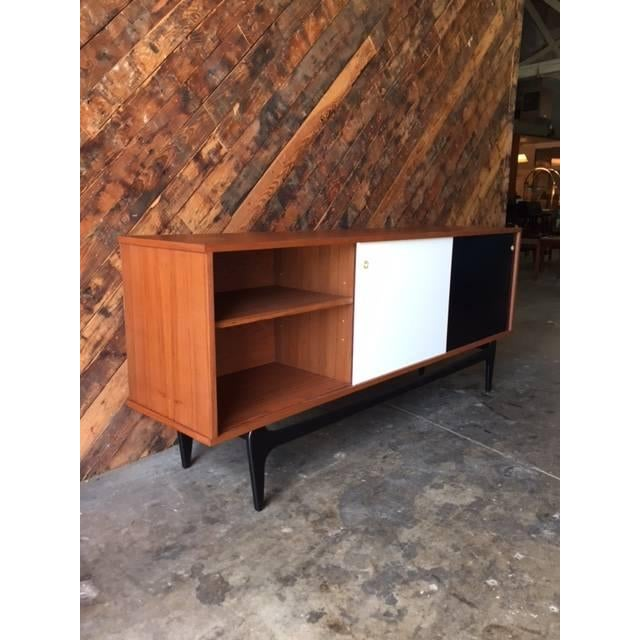 Mid-Century Modern Mid Century Style Custom Credenza For Sale - Image 3 of 5