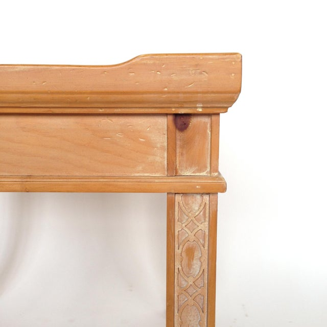Century Furniture Knotty Pine Side Table - Image 3 of 6