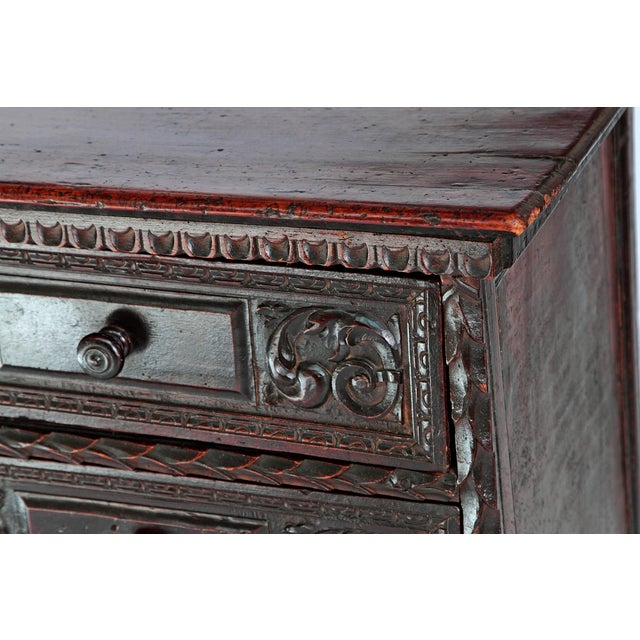 18th Century Spanish Walnut Chest For Sale - Image 4 of 12