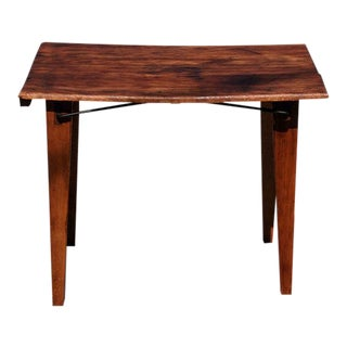 Small Wooden Folding Table For Sale