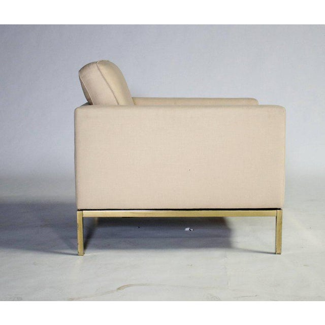 Mid-Century Modern Florence Knoll Armchair For Sale - Image 3 of 8