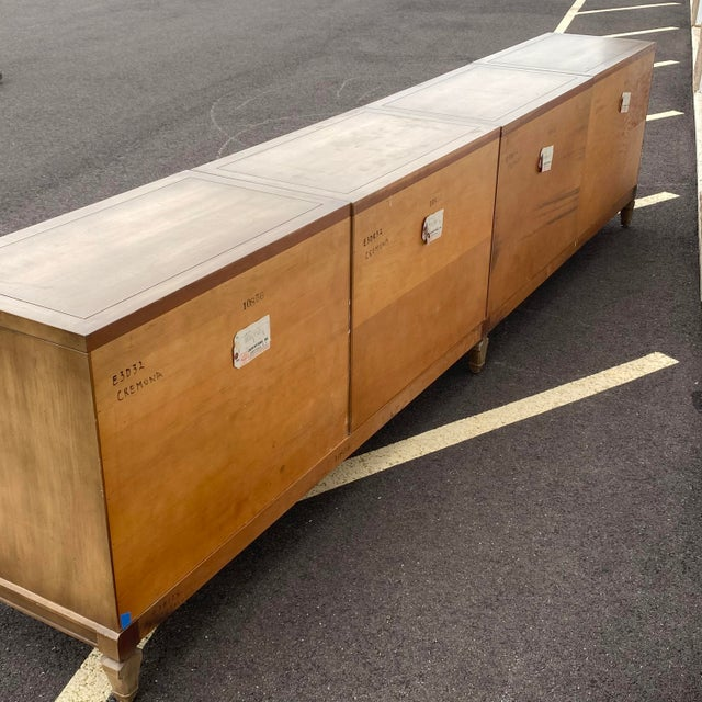 """Modular 129"""" Credenza by Union-National Inc. For Sale - Image 9 of 13"""