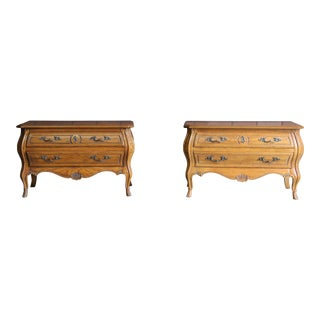 Mid 20th Century Heritage Grand Tour Nightstands - a Pair For Sale