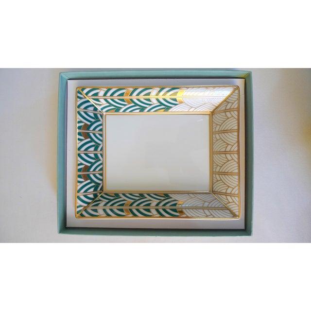 1990s Van Cleef & Arpels Bernardaud Porcelain Jewelry Dish For Sale In San Francisco - Image 6 of 10