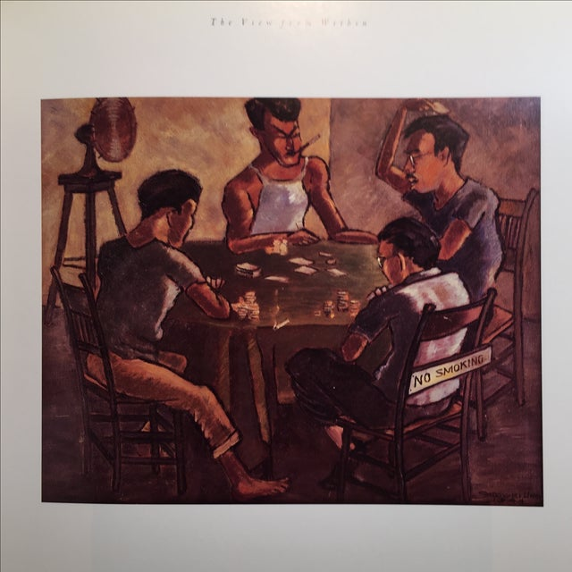 """Black """"The View From Within"""" Japanese American Art Book 1942-45 For Sale - Image 8 of 8"""