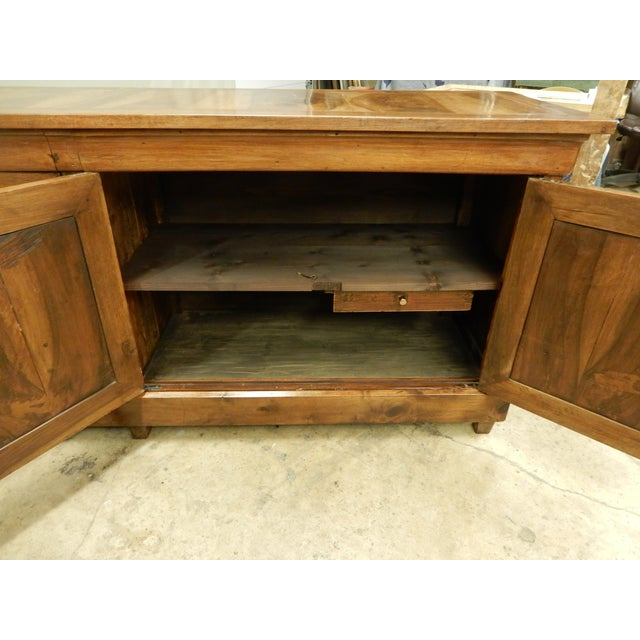 Wood French Walnut 19th Century Enfilade For Sale - Image 7 of 12