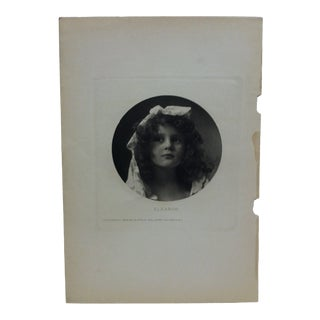 "Late 19th Century Vintage ""Eleanor"" Original Print by b.j. Falk For Sale"
