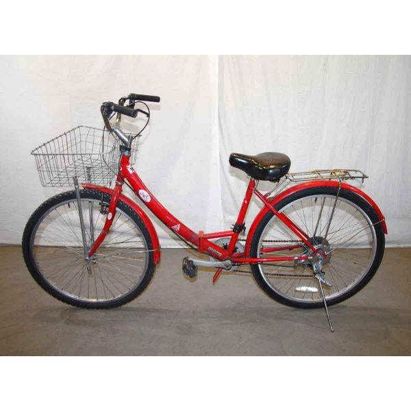 Original Red Strokin Bicycle with Basket - Image 5 of 10