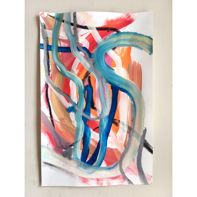 Contemporary Day 88 Original Abstract Paining by Jessalin Beutler For Sale - Image 3 of 5