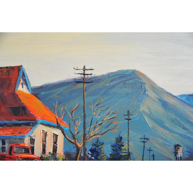 Red Roof Farm House -Oil Painting by Ben Abril - Image 7 of 11