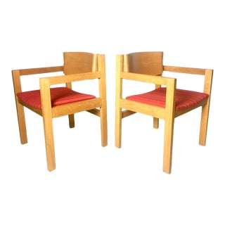 Mid-Century Harvey Probber Armchairs - a Pair For Sale