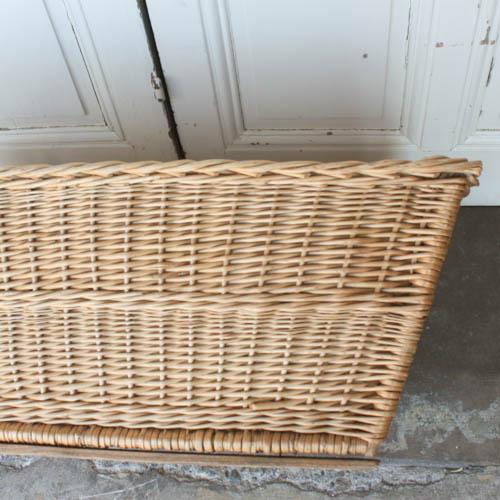 Vintage French Laundry Basket - Image 5 of 8
