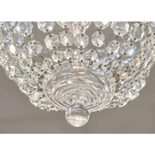 Crystal Antique Crystal Baccarat Chandelier For Sale - Image 7 of 10