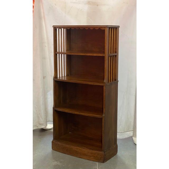 Art Deco Early American Art Deco Retro Style Bookcase For Sale - Image 3 of 4