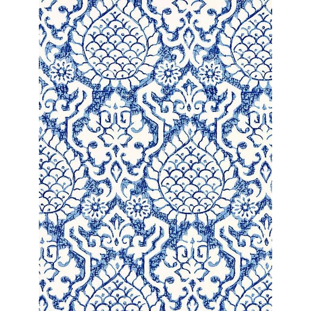 """From the Scalamandre collection. Pattern is large. Pattern repeat is 30""""L x 17""""W One yard minimum."""