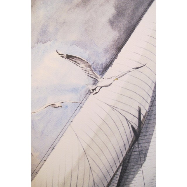 1995 America's Cup Sailing Poster, Ranger II Yacht - Image 2 of 5