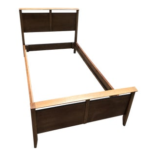 Drexel John Van Koert Mid-Century Modern Twin Bed Frame