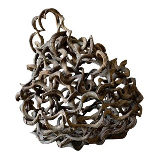 Sculptural Sphere Vine Ball For Sale