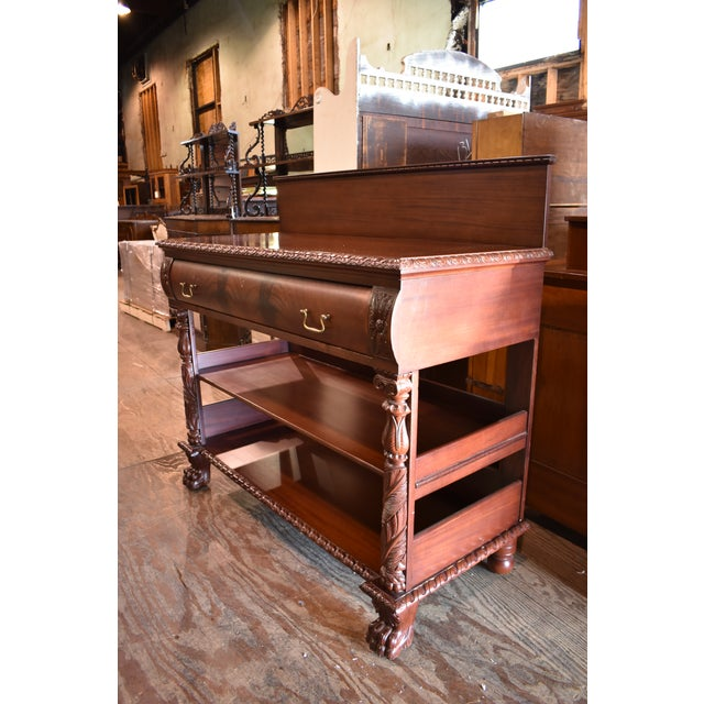 Beautiful Dining Sideboard/Buffet Photos do not do justice!!!! Quality construction, hardware and more. High end total...