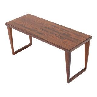 Vintage 1960s Kai Kristiansen for Aksel Kjersgaard Rosewood Table For Sale