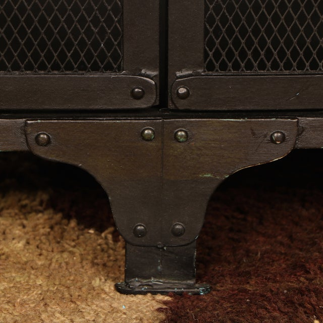 Industrial Iron Cabinet - Image 9 of 10