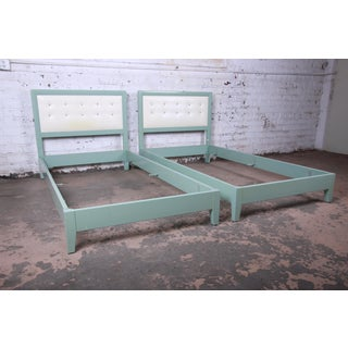 Kittinger Mandarin Collection Twin Beds, Pair Preview