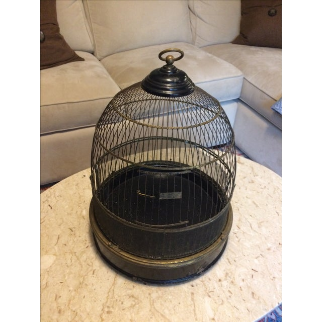 Vintage Bird Cage - Image 2 of 4