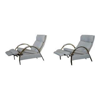 George Mulhauser for DIA Reclining Lounge Chair - A Pair For Sale