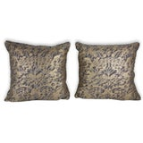 Image of Fortuny Square Pillows - A Pair For Sale