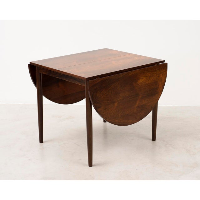 Niels Moller Niels Moller Extending Dining Table in Rosewood, Denmark 1950s For Sale - Image 4 of 12