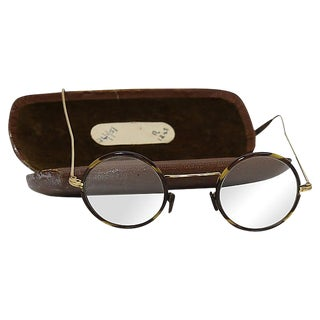 Antique English Spectacles / Eyeglasses For Sale