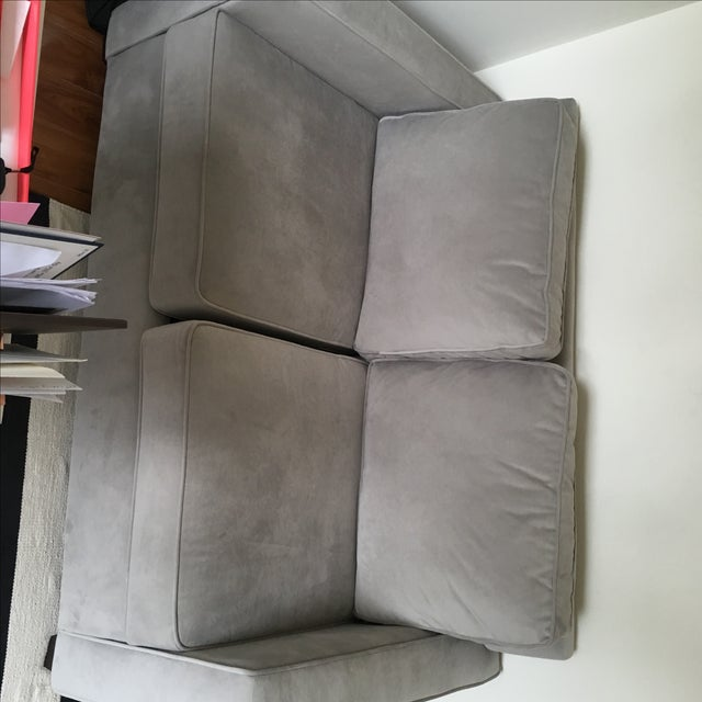 Contemporary West Elm Henry Basic Twin Sleeper Sofa For Sale - Image 3 of 5