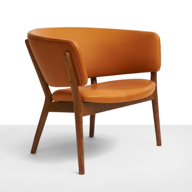 Danish Modern Nanna Ditzel Model #ND83 Lounge Chairs - a Pair For Sale - Image 3 of 10