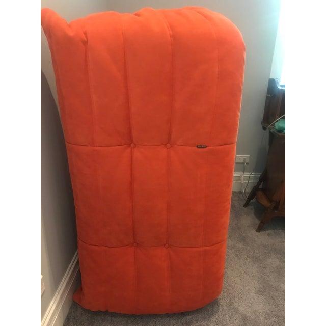 Michel Ducaroy for Ligne Roset Orange Togo Sofas - Set of 3 - Image 8 of 11