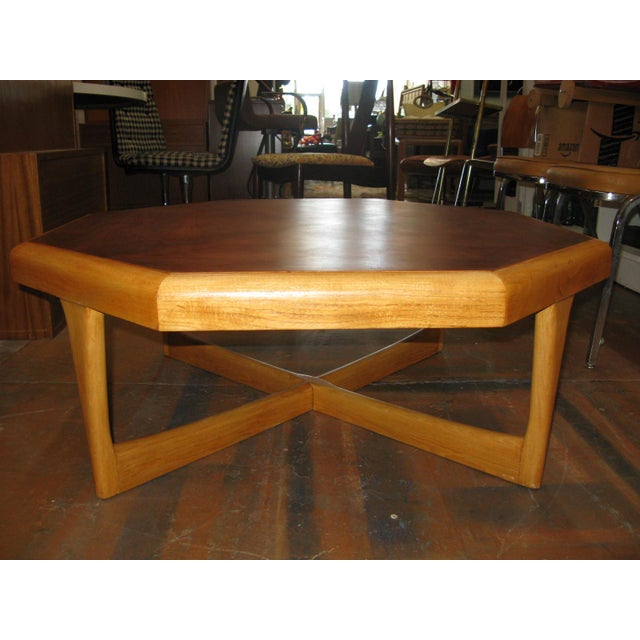 Lane Hexagonal Coffee Table For Sale - Image 10 of 10