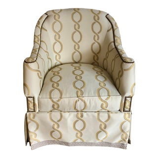 Hickory Chair Furniture Company Eton Swivel Chair For Sale