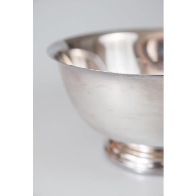 Vintage Silverplate Revere Bowl For Sale - Image 4 of 6