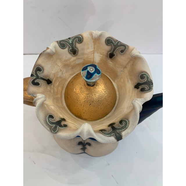 Traditional Handmade Pottery by Julia Galloway -Set of 3 For Sale - Image 3 of 13