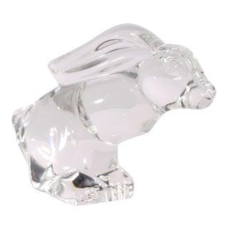 Steuben Crystal Rabbit Figurine For Sale