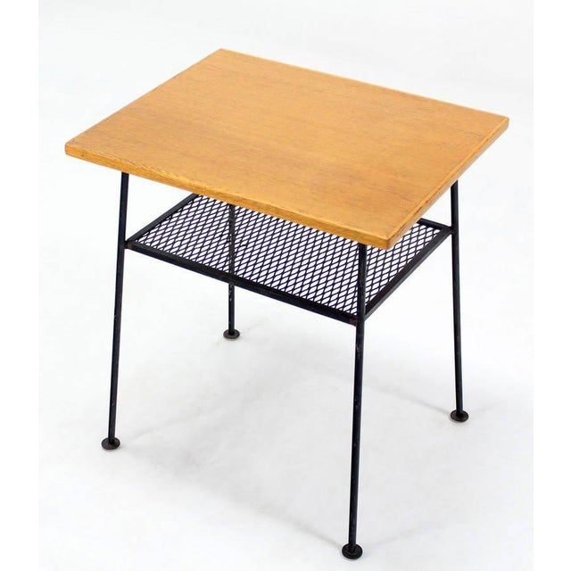 Very nice vintage side table attributed to Mattieu Mategot.